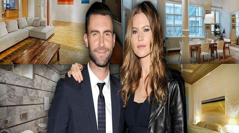 behati-prinsloo-and-adam-levine-soho-building