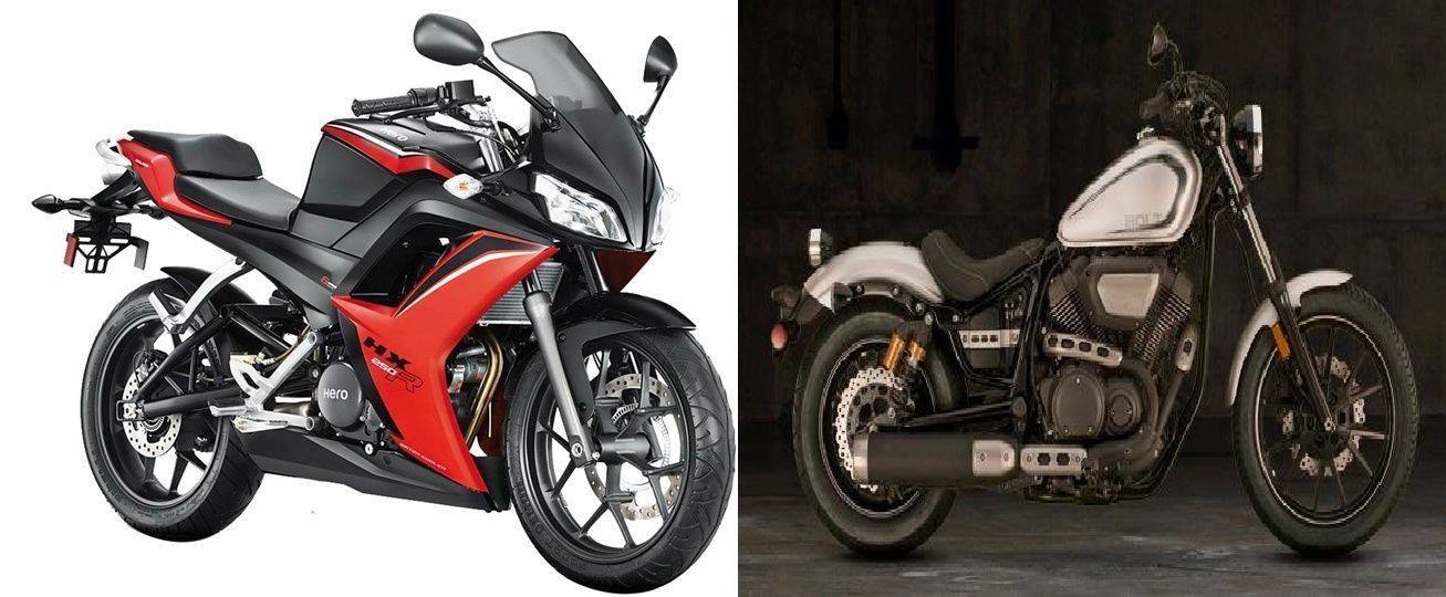 Old Motorcycle vs New Motorcycle