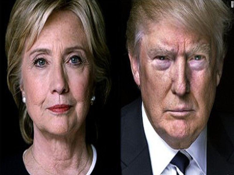 Trum vs Hillary