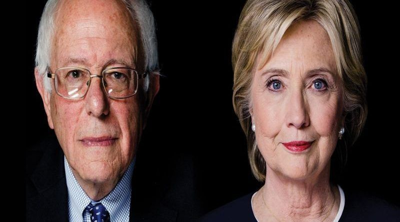 bernie vs hillary - Copy
