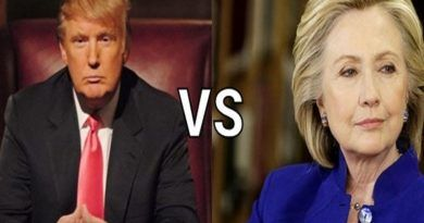 trump vs clinton 1