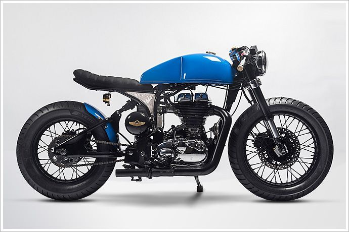 6.royal enfield cafe racer