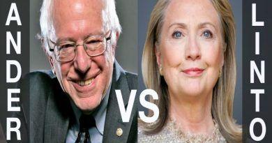 sander vs clinton word