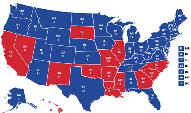 bernie sanders write-in states