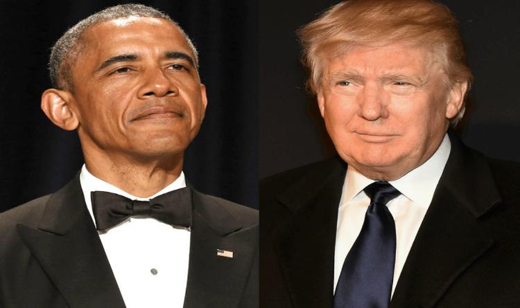 Trump and Obama Wordpress