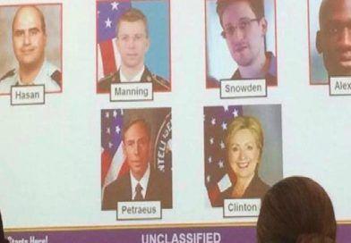 "Army Officially Declared Hillary Clinton An ""Insider Threat"""