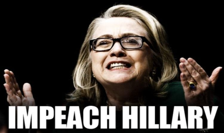 Image result for hillary impeachment