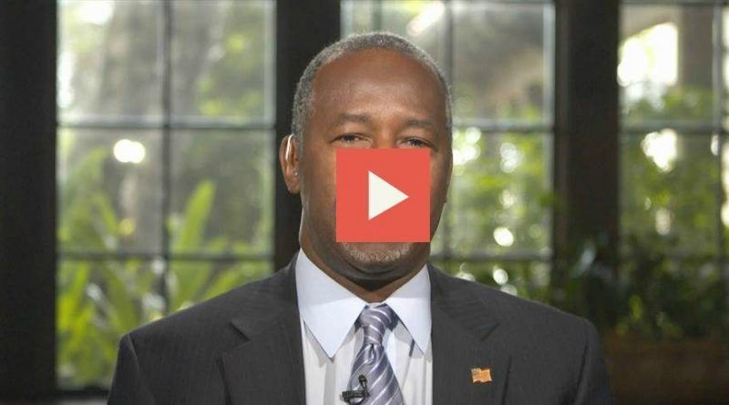 Watch: Ben Carson Says No to a Muslim U.S. President