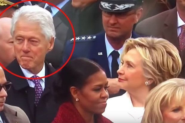 Is Hillary Catching Bill Staring At Ivanka Trump? (Video)