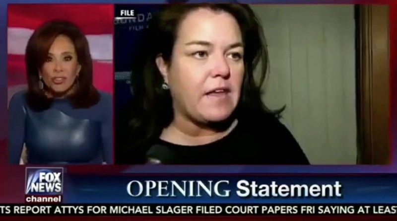 Judge Jeanine Opening Monologue Destroys John Lewis, Rosie O'Donnell
