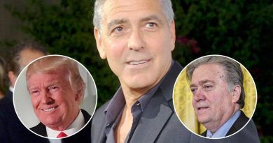 George Clooney Launches Attack On Trump And Bannon,Twitter Users Immediately Destroyed Him