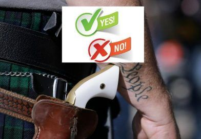 POLL! Do you support open-carry gun laws in restaurants and retail stores?