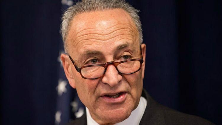Chuck Schumer Predicts: GOP Will Split With President Trump
