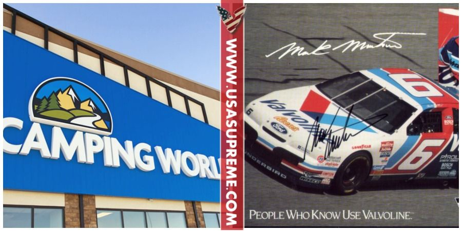 CEO of Camping World Tells Trump Supporters not to Shop There, NASCAR Legend Makes Them Regret That - USA SUPREME