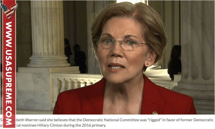Hillary Betrayed From One Of Her Own...Elizabeth Warren Confirms Democrats' Worst Nightmare - USA SUPREME
