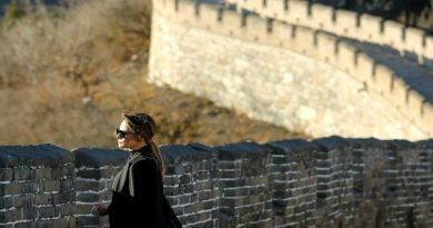 Melania Stuns The World In a Gorgeous Outfit as She Visits the Great Wall of China (Photos & Video)