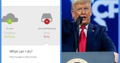 Breaking: As Trump Is Getting Ready To Give His Speech, CPAC's Website Is Allegedly Being DDOS'd