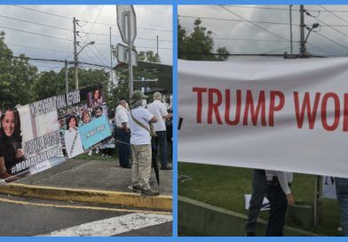 Photos: Kamala Harris Humiliated During Her First Trip Abroad To Guatemala And Mexico – She Was Greeted With With 'Go Home' and 'Trump Won' Signs That Were Ignored By The MSM