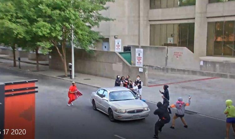 """Video: BLM """"Protesters"""" Surround A Car And Pull Out A Gun – The Police Search For The Driver Who Served Them Instant Justice"""