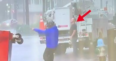 Videos: Weather Channel Busted In Their Coverage Of Hurricane Ida- Utility Worker Trolls Fake News Reporter