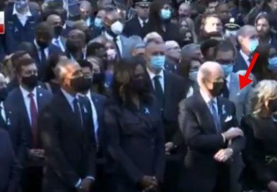 Joe Got Bored Again Video Shows Biden Crossing His Arms And Scratching His Head At Ground Zero