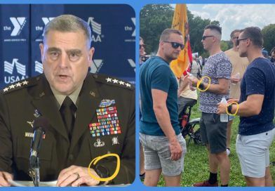 """Photos: Participants At The Justice for J6 Rally Wear The Same """"Military"""" Watch As The """"Woke General Milley"""""""