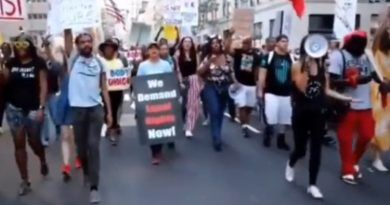 Video: The Politicians Biggest Fear – BLM And Trump Supporters March Together Against Vaccine Mandates
